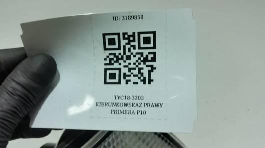 TYC18-3203 KIERUNKOWSKAZ PRAWY PRIMERA P10