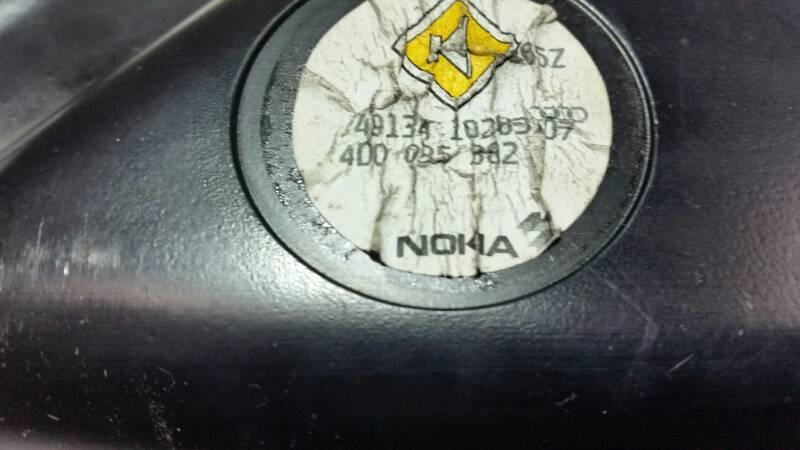 4D0085982 GLOSNIK TUBA NOKIA AUDI A8 D2