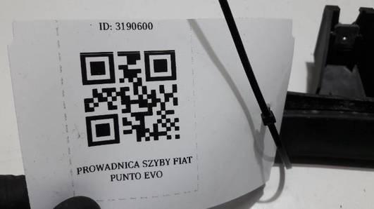 PROWADNICA SZYBY FIAT PUNTO EVO