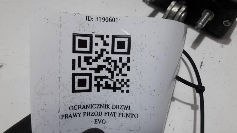 OGRANICZNIK DRZWI PRZOD FIAT PUNTO EVO
