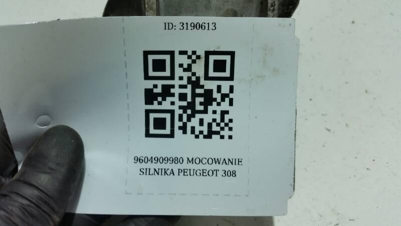 9604909980 MOCOWANIE LAPA SILNIKA PEUGEOT 308