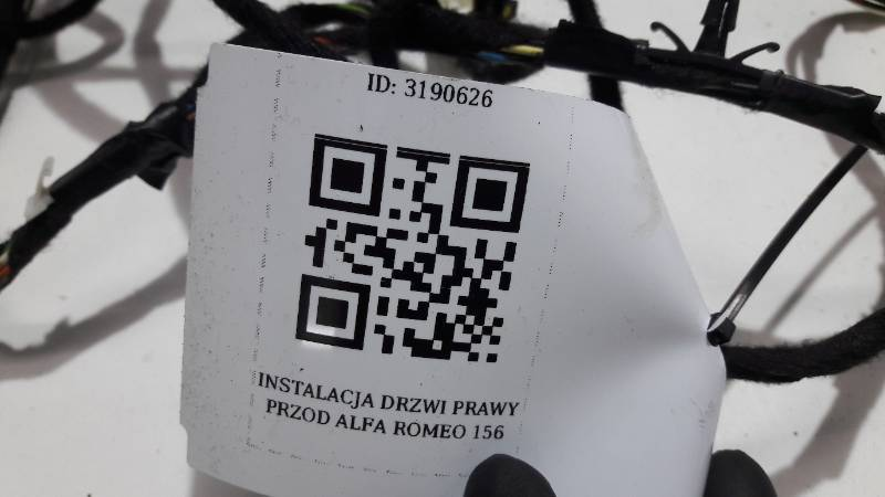 INSTALACJA DRZWI PRAWY PRZOD ALFA ROMEO 156