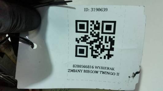 8200566816 WYBIERAK ZMIANY BIEGOW TWINGO II