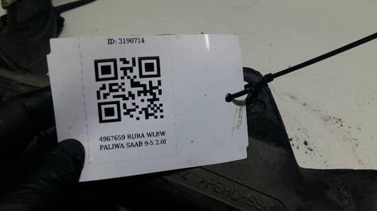 4967659 RURA WLEW PALIWA SAAB 9-5 2.0I