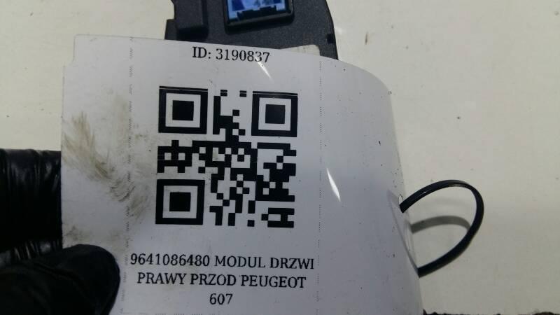9641086480 MODUL DRZWI PRAWY PRZOD PEUGEOT 607