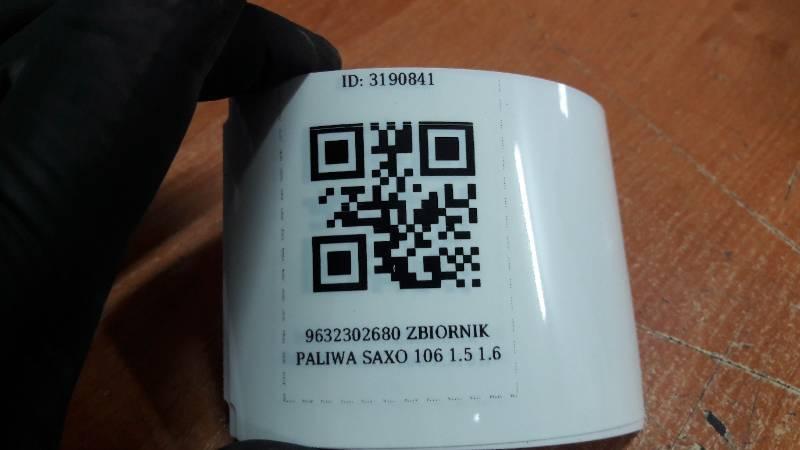 9632302680 ZBIORNIK PALIWA SAXO 106 1.5 1.6