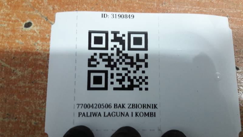 7700420506 BAK ZBIORNIK PALIWA LAGUNA I KOMBI