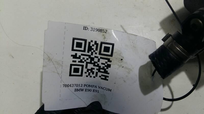 700437012 POMPA VACUM BMW E90 E91 N