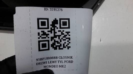 95BP18808BB GLOSNIK DRZWI LEWY TYL FORD MONDEO MK2