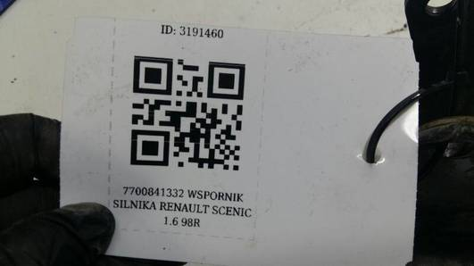 7700841332 WSPORNIK SILNIKA RENAULT SCENIC 1.6 98R