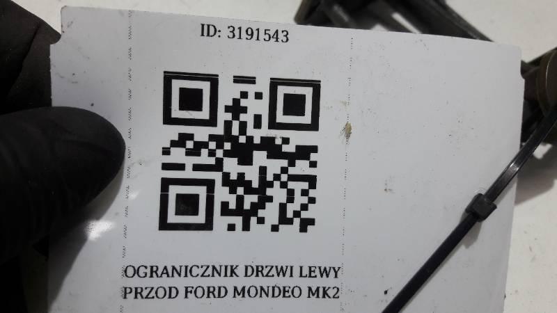 OGRANICZNIK DRZWI LEWY PRZOD FORD MONDEO MK2