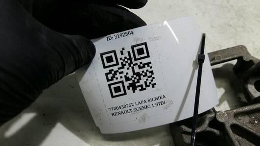 7700430752 LAPA SILNIKA RENAULT SCENIC 1.9TDI
