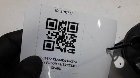 96601472 KLAMKA DRZWI LEWY PRZOD CHEVROLET SPARK