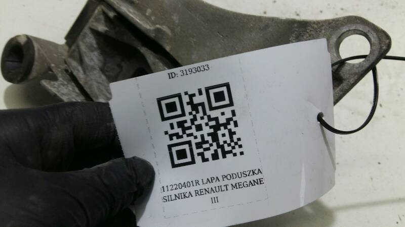 112200014R LAPA PODUSZKA SILNIKA MEGANE III