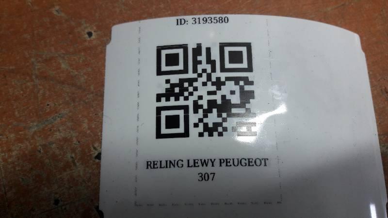 RELING DACHOWY LEWY PEUGEOT 307 LIFT KOMBI