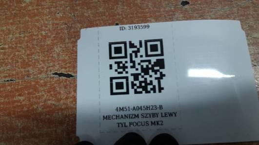 4M51-A045H23-B MECHANIZM SZYBY LEWY TYL FOCUS MK2