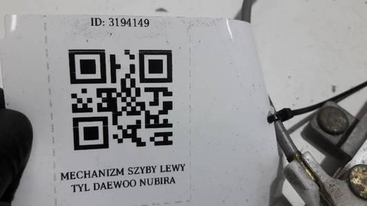 MECHANIZM SZYBY LEWY TYL DAEWOO NUBIRA