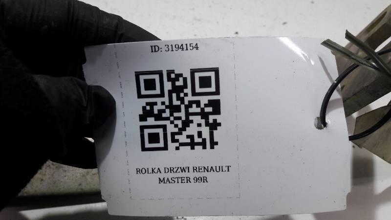 ROLKA DRZWI RENAULT MASTER 99R