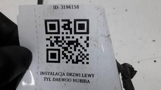 INSTALACJA DRZWI LEWY TYL DAEWOO NUBIRA