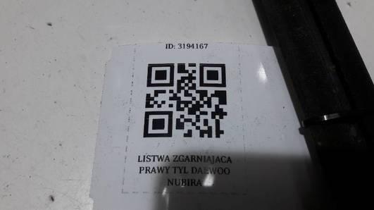 LISTWA ZGARNIAJACA PRAWY TYL DAEWOO NUBIRA