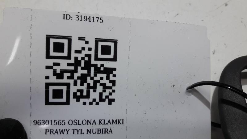 96301565 OSLONA KLAMKI PRAWY TYL NUBIRA