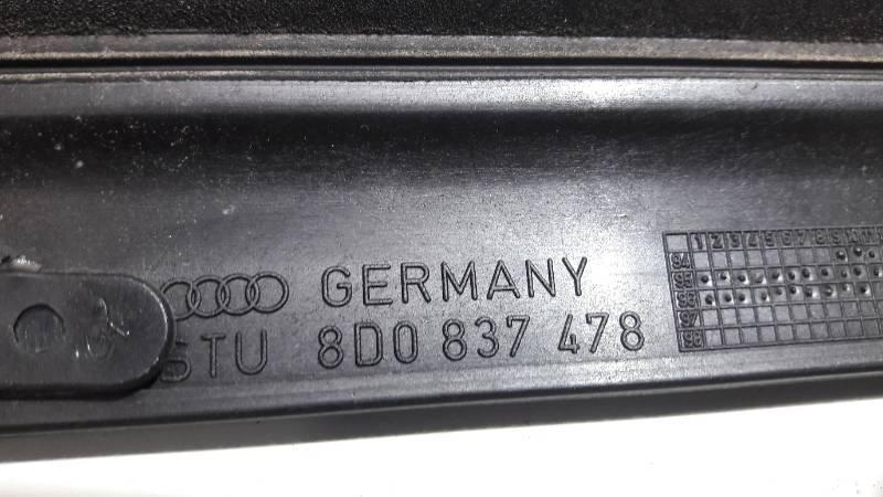 8D0837478 LISTWA ZGARNIAJACA PRAWY PRZOD AUDI A4 B