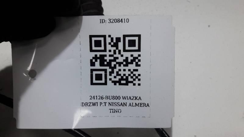 24126-BU800 WIAZKA DRZWI PRAWY TYL ALMERA TINO