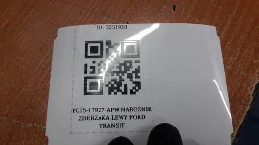 YC15-17927-AFW NAROZNIK ZDERZAKA LEWY FORD TRANSIT