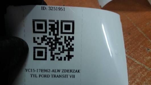 YC15-17E962-ALW ZDERZAK TYL FORD TRANSIT VII