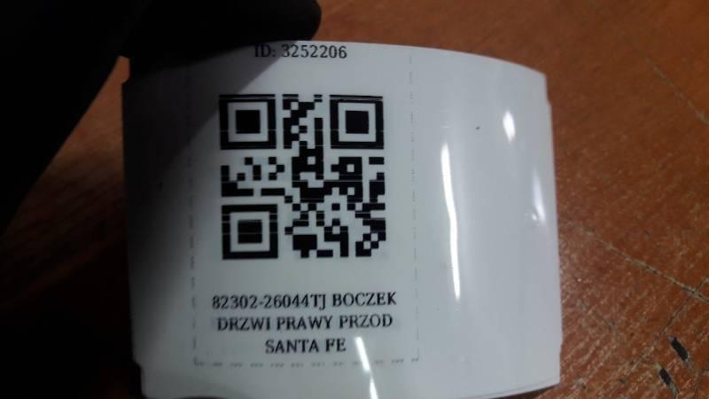 82302-26044TJ BOCZEK DRZWI PRAWY PRZOD SANTA FE