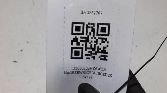 1238302084 ZAWOR NAGRZEWNICY MERCEDES W124