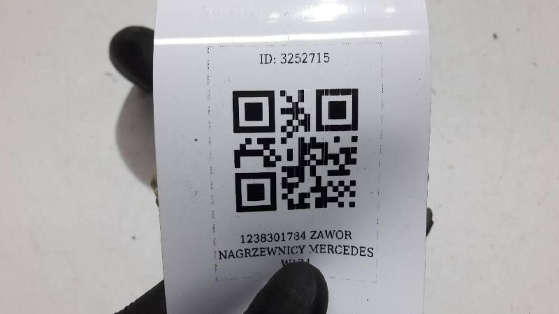 1238301784 ZAWOR NAGRZEWNICY MERCEDES W124