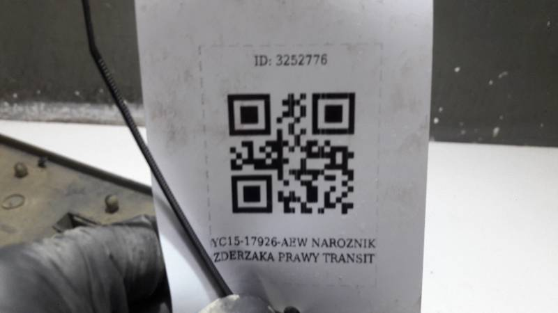 YC15-17926-AEW NAROZNIK ZDERZAKA PRAWY TRANSIT