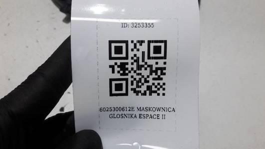 6025300612  MASKOWNICA GLOSNIKA ESPACE II