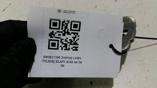 8W9827299 ZAWIAS LEWY TYLNIEJ KLAPY AUDI A4 S4 B9