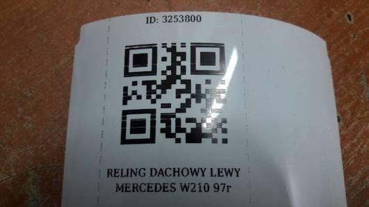 RELING DACHOWY LEWY MERCEDES W210 97r