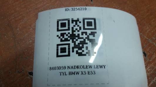8403059 NADKOLE LEWY TYL  BMW X5 E53
