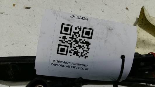 032905487B PRZEWODY ZAPLONOWE VW POLO III