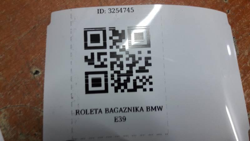 ROLETA BAGAZNIKA BMW E39