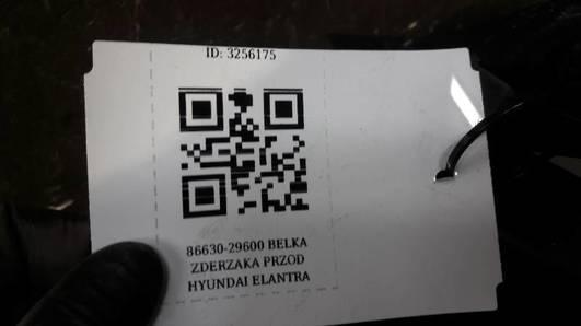 86630-29600 BELKA ZDERZAKA PRZOD HYUNDAI LANTRA II