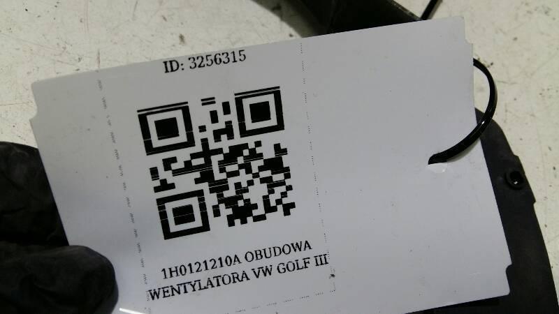 1H0121210A OBUDOWA WENTYLATORA VW GOLF III