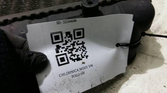 CHLODNICA WODY VW POLO 6N