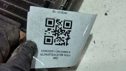 6X0820411 CHLODNICA KLIMATYZACJI VW POLO 6N2