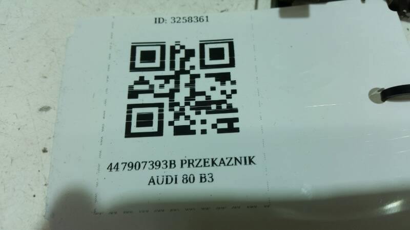 447907393B PRZEKAZNIK AUDI 80 B3
