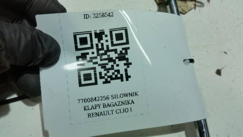 7700842256C SILOWNIK KLAPY BAGAZNIKA CLIO I