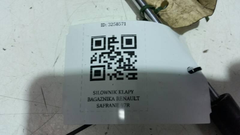 SILOWNIK KLAPY BAGAZNIKA RENAULT SAFRANE 97R