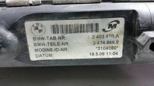 3403470A CHLODNICA WODY BMW X3 E83 3.0