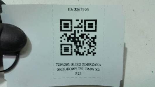 7294391 SLIZG ZDERZAKA SRODKOWY TYL BMW X5 F15