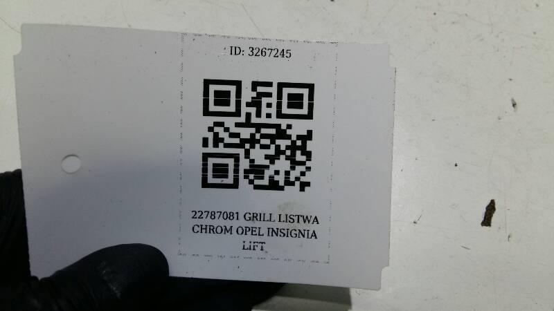 22787081 GRILL LISTWA CHROM OPEL INSIGNIA LIFT
