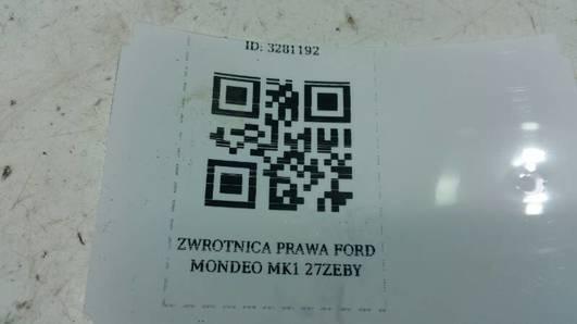 ZWROTNICA PRAWA FORD MONDEO MK1 1.8 27ZEBY